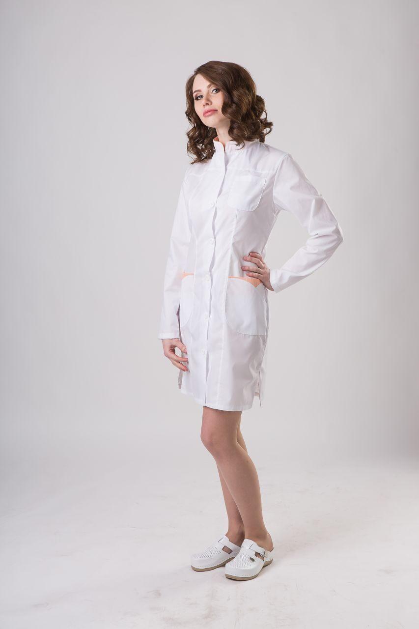 Вбелых медицинских прозрачных штанах фото 358-198