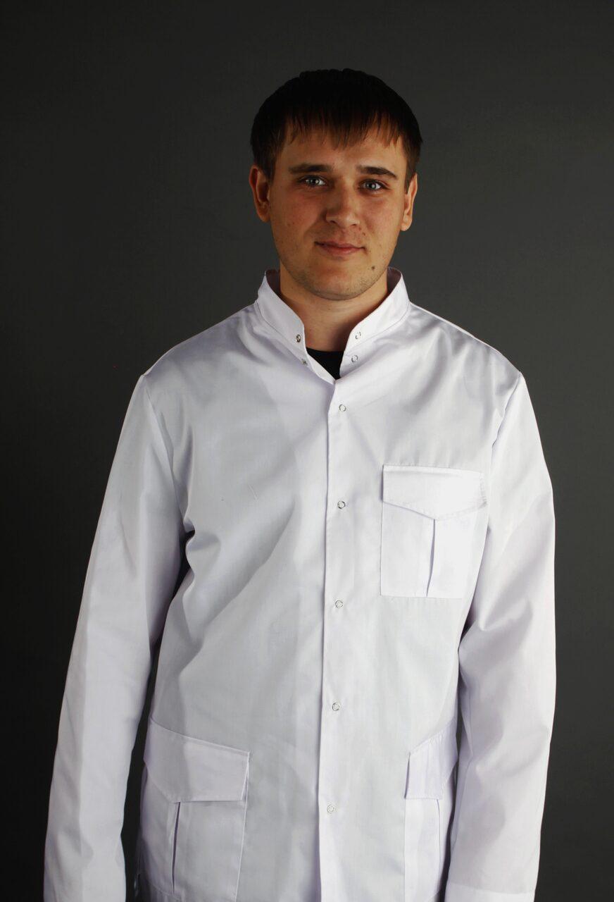 Телочку в белом халатике 27 фотография